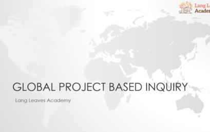「アクティブラーニング」の一歩先をいく教え方 Global Project Based Inquiry:報告レポート